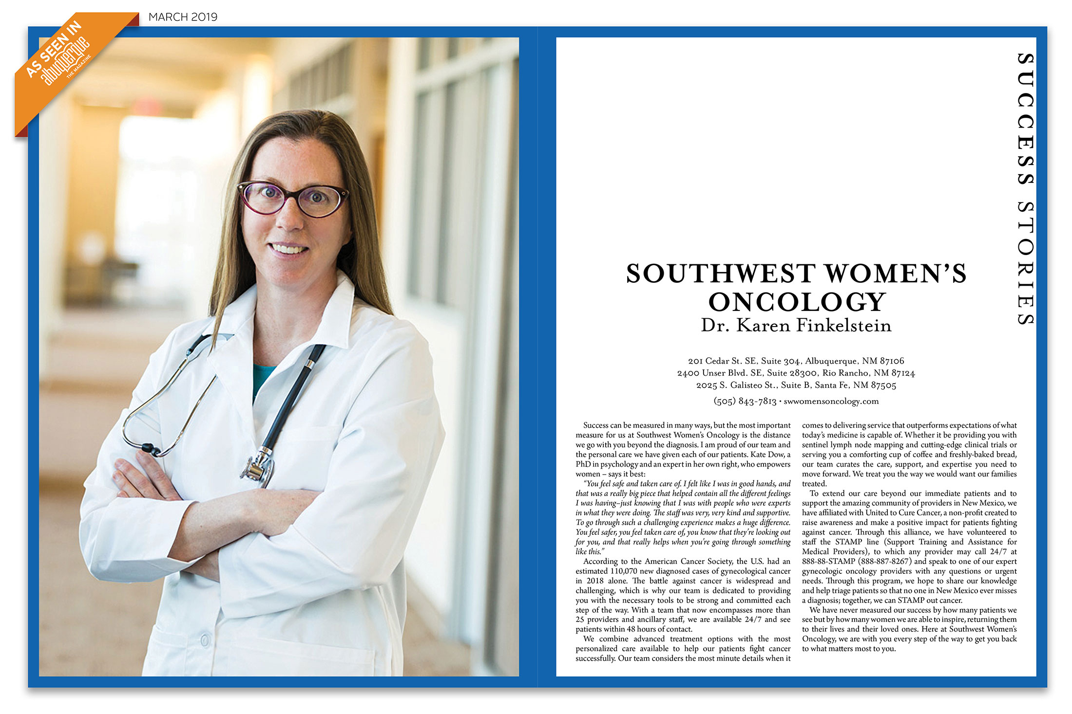 southwest womens oncology treats womens cancer with compassion